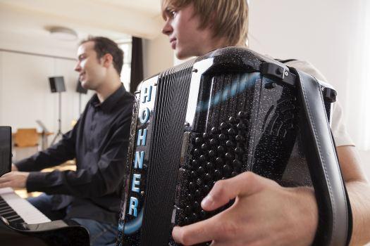 Akkordeon Jazz Und Popularmusik