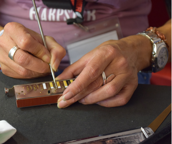 Mundharmonika-Reparatur 10.06.2018 Ganztägig