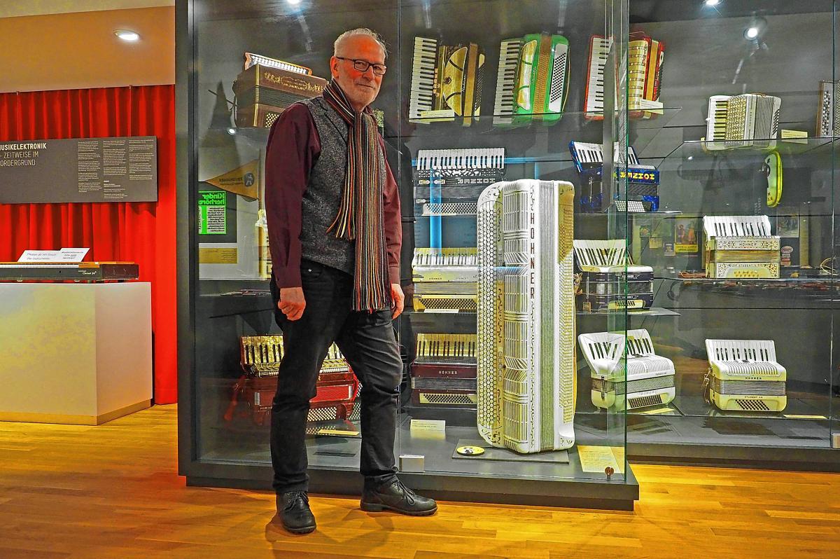 Trossingen Mit Seinem Bestand Von Mehr Als 25000 Harmonikainstrumenten. Bild: Gunter Faigle